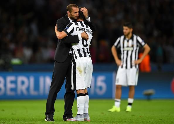 Chiellini e Marchisio