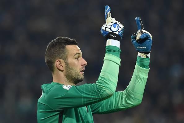 Samir Handanovic portiere dell'Inter