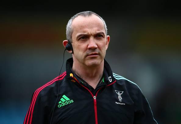 Conor O'Shea, allenatore della nazionale italiana di Rugby