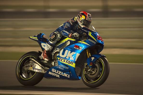 Maverick Vinales, pilota Moto GP della Suzuki