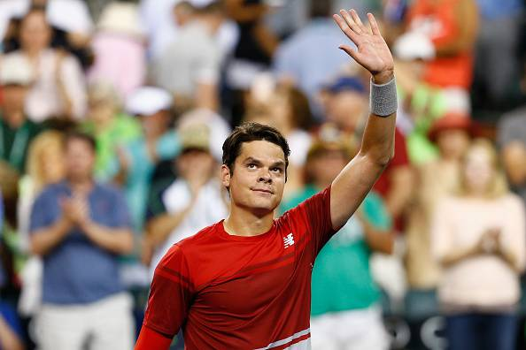Milos Raonic, semifinalista a Indian Wells 2015 e 2016