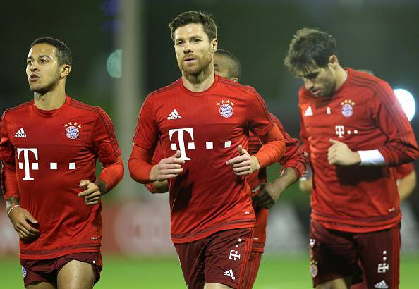 Xabi Alonso, centrocampista del Bayern Monaco