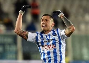Gianluca Lapadula, attaccante del Pescara, è vicinissimo al Napoli