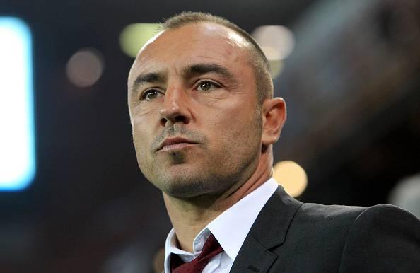 Cristian Brocchi, allenatore del Milan Brescia Serie B