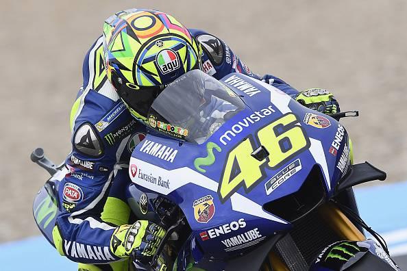 Valentino Rossi, protagonista della Moto GP da anni