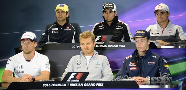 GP Russia: la conferenza stampa dei piloti