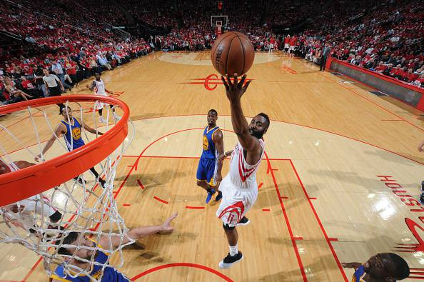 James Harden, stella degli Houston Rockets NBA