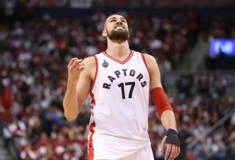 Jonas Valanciunas, centro dei Toronto Raptors NBA