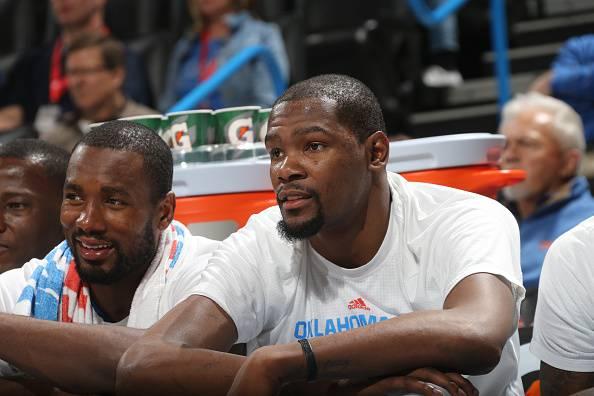 Kevin Durant, stella degli Oklahoma City Thunder
