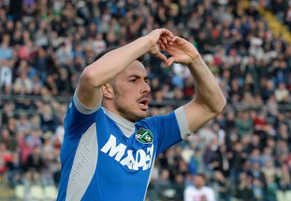 Nicola Sansone, attaccante del Sassuolo