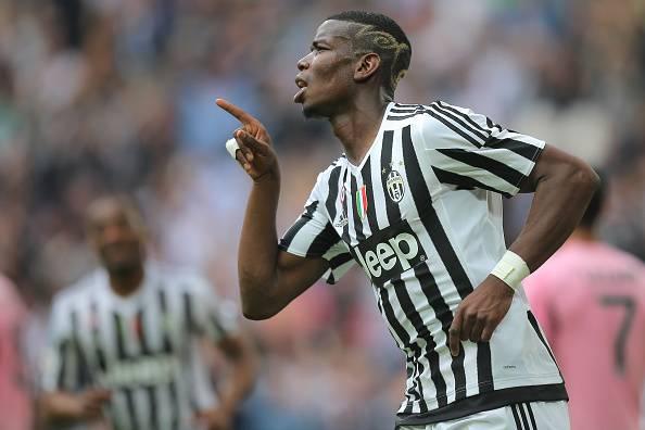 Paul Pogba, centrocampista della Juventus, piace al Manchester United