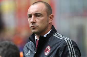 Cristian Brocchi, allenatore del Milan