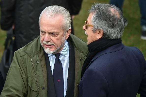 """Napoli, De Laurentiis: """"Vogliamo il secondo posto"""""""