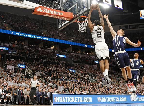 NBA: gli Spurs travolgono i Thunder