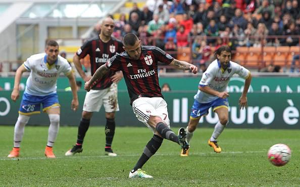 Serie A: Menez salva il Milan, vincono Sassuolo e Palermo