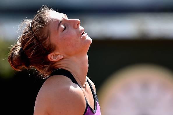Sara Errani, eliminata al WTA Cincinnati al primo turno