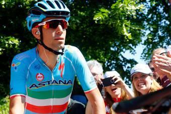 Vincenzo Nibali, tra i protagonisti del Giro d'Italia