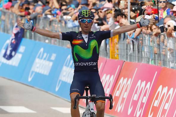 """Giro d'Italia, Valverde: """"Il mio obiettivo è il podio. Sono felice per la vittoria"""""""