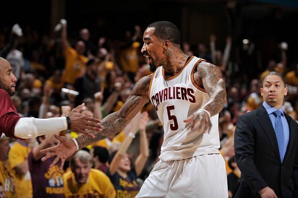 JR Smith, guardia dei Cleveland Cavaliers NBA