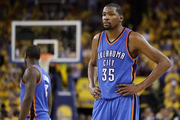 Kevin Durant, stella degli Oklahoma City Thunder NBA