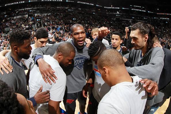 Kevin Durant e gli Oklahoma City Thunder NBA