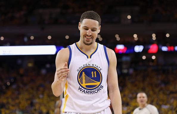 Klay Thompson, guardia dei Golden State Warriors NBA