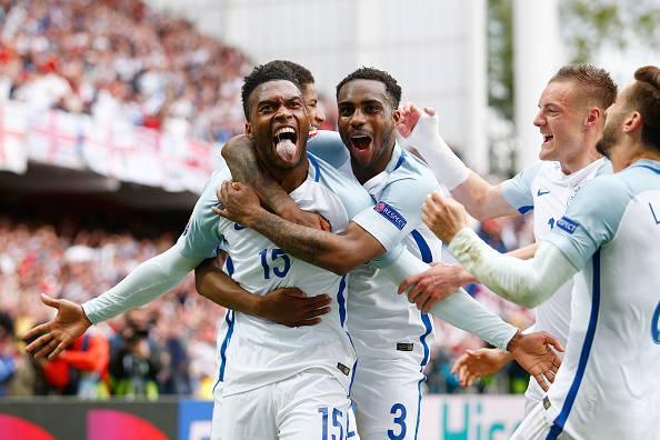 Daniel Sturridge, attaccante dell'Inghilterra. Decisivo il suo primo gol a Euro 2016