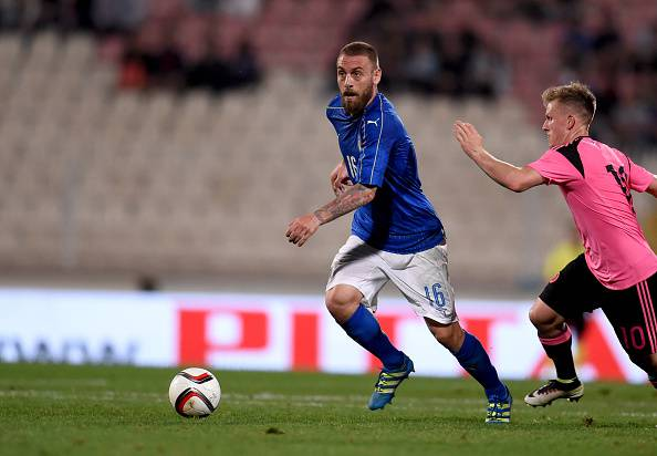 Daniele De Rossi, centrocampista della Roma e dell'Italia