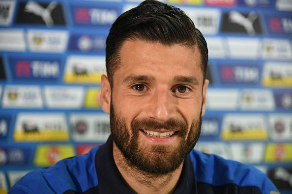 Antonio Candreva, giocatore della Lazio nel mirino di Inter