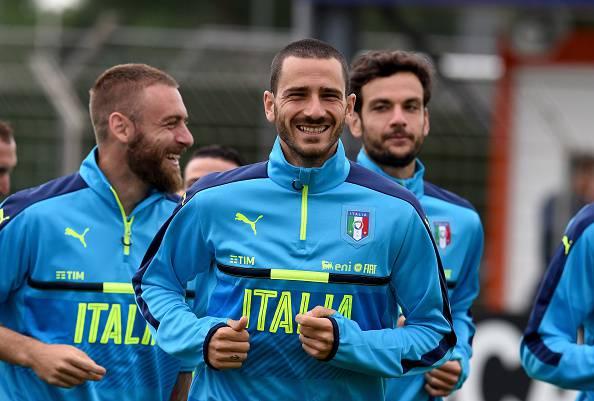 Leonardo Bonucci , difensore della Juventus e dell'Italia. Piace al Manchester City