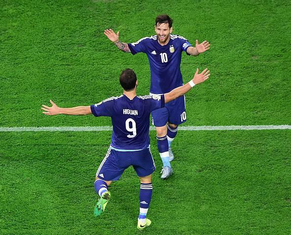 Lionel Messi e Gonzalo Higuain