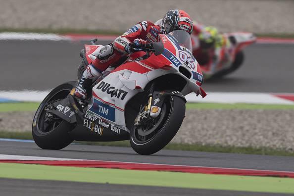Andrea Dovizioso, pilota Moto GP con la Ducati