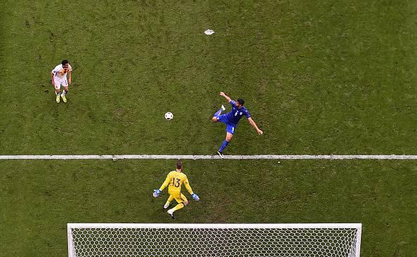 La rete del 2-0 di Graziano Pellè