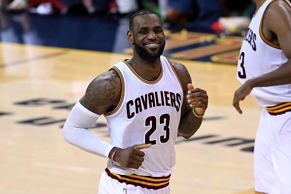 Lebron James, stella NBA e leader dei Cleveland Cavaliers