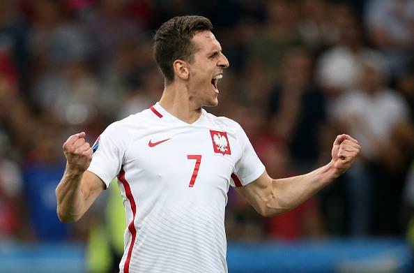 Arkadiusz Milik, attaccante della Polonia è un nuovo giocatore del Napoli