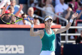 Eugenie Bouchard, vincitrice nella notte al WTA Montreal