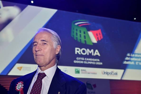 Giovanni Malagò Roma 2024,calcio