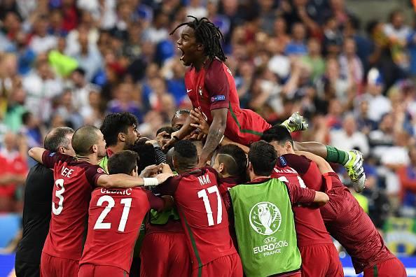 Il Portogallo, campione a Euro 2016