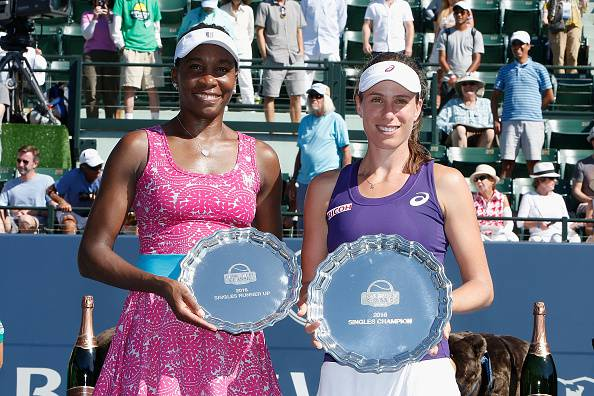 Williams e Konta (getty images) SN.eu