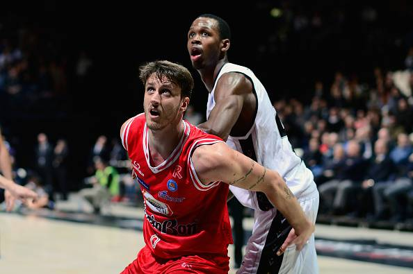 Achille Polonara, giocatore della Grissin Bon Reggio Emilia e stella del basket italiano