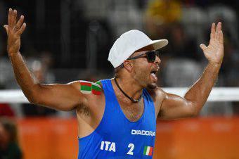 Adrian Carambula, difende i colori dell'Italia a Rio 2016