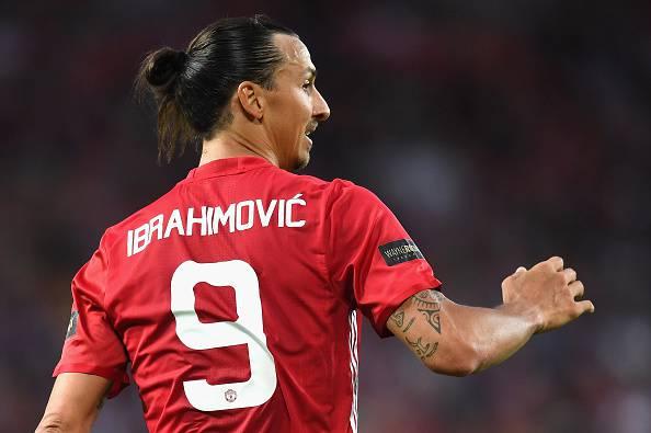 Zlatan Ibrahimovic, stella del calcio Mondiale. Oggi è al Manchester United