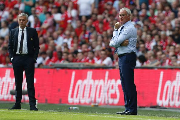 Mourinho e Ranieri (getty images) SN.eu