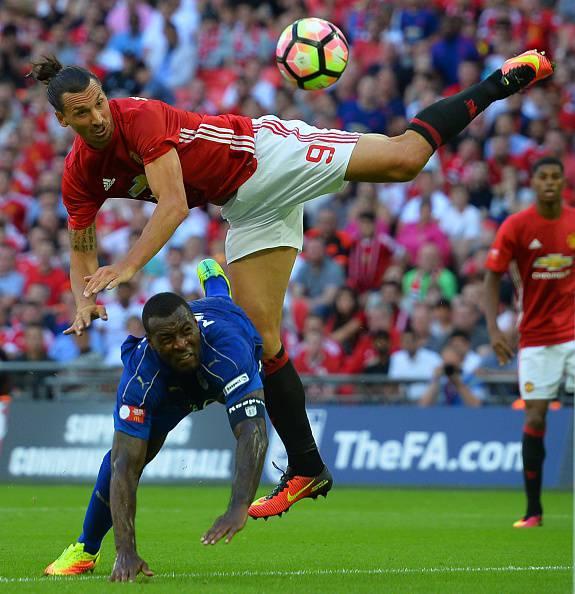 La rete di Zlatan Ibrahimovic