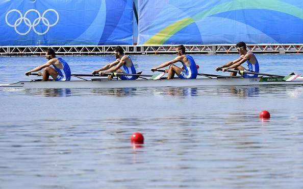 Olimpiadi, medaglia di legno per Goretti con il 4 senza