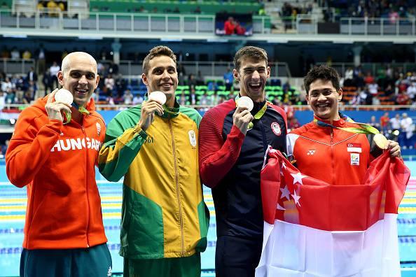 Rio 2016: Phelps argento nei 100 farfalla, medaglia numero 23