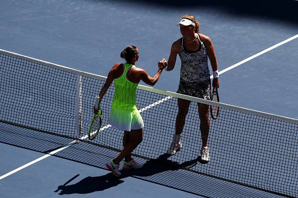 Roberta Vinci e Anna-Lena Friedsam (getty images) SN.eu