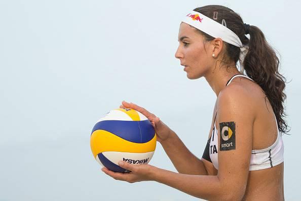 Marta Menegatti, protagonista nel beach volley a Rio 2016