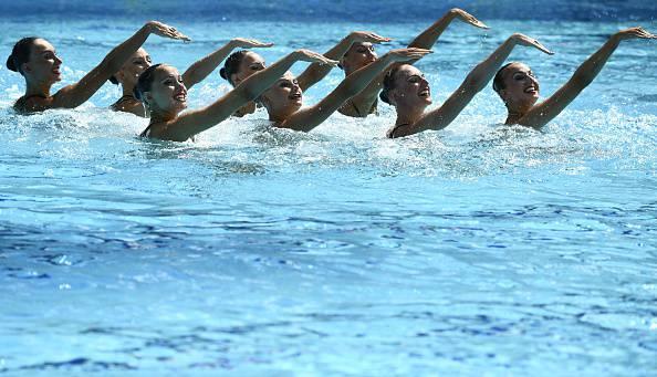 La squadre russa di nuoto sincronizzato a Rio 2016