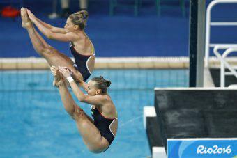 Tania Cagnotto e Francesca Dallapè, argento a Rio 2016